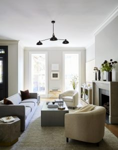 Luxury Living Room Design Hoboken, NJ