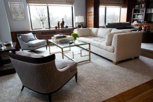 Modern Living Room Design Manhattan, NY