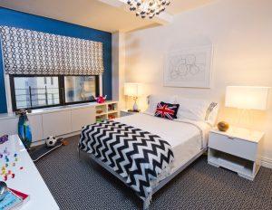 Modern Bedroom Decoration Manhattan, NY