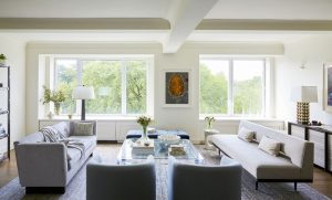 Living Room Interior Design Manhattan, NY