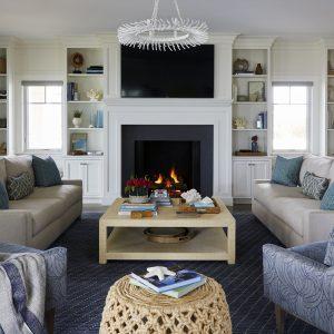 Beach Home Interior Design Mantoloking, NJ