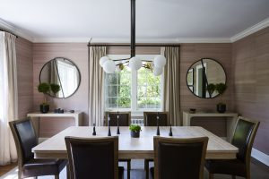 Modern Dining Room Decorating Westchester, NY