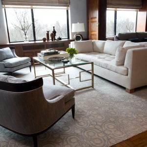 Modern Living Room Design Manhattan, NY