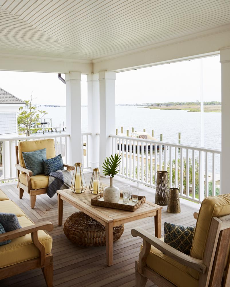 Bay Front Beach House | J. Patryce Design & Company