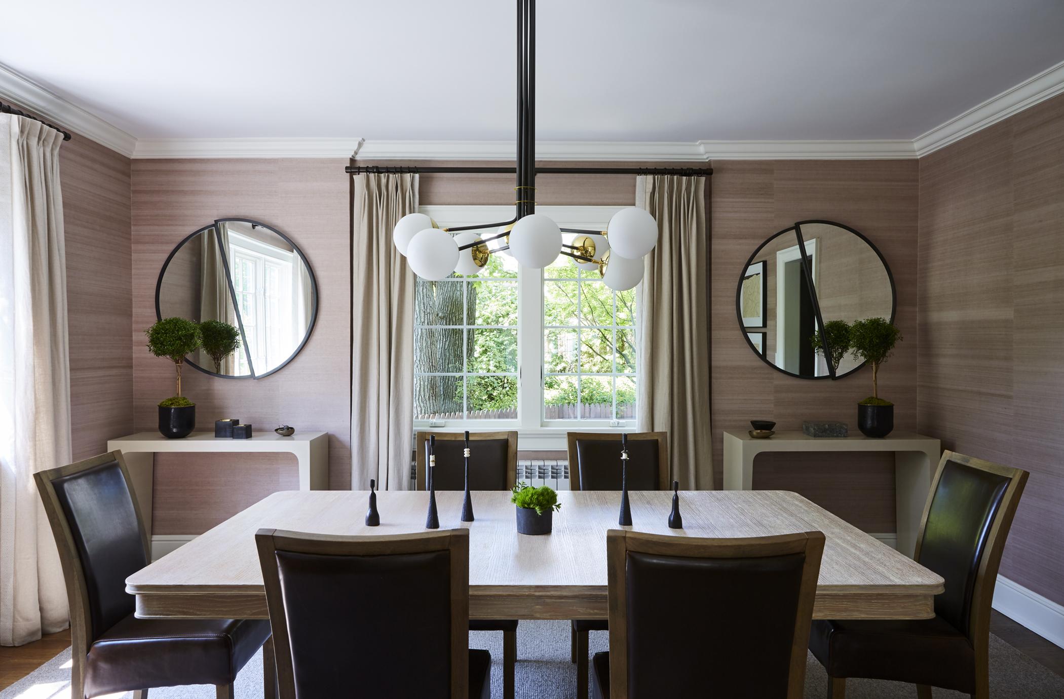 J. Patryce Design Pelham Tudor dining room
