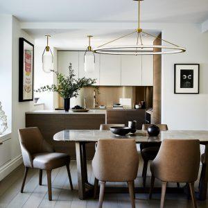 Modern Dining Room Design, Manhattan NY
