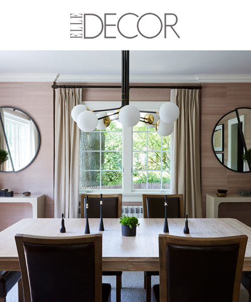 Elle Decor 0919: J. PATRYCE DESIGN CRAFTS A TEXTURED ENVIRONMENT FOR A HIGH-END NEW YORK HOME