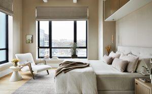 Harborside Penthouse master bedroom