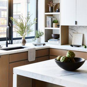 Harborside Penthouse kitchen