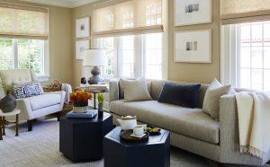Pelham Tudor family living room
